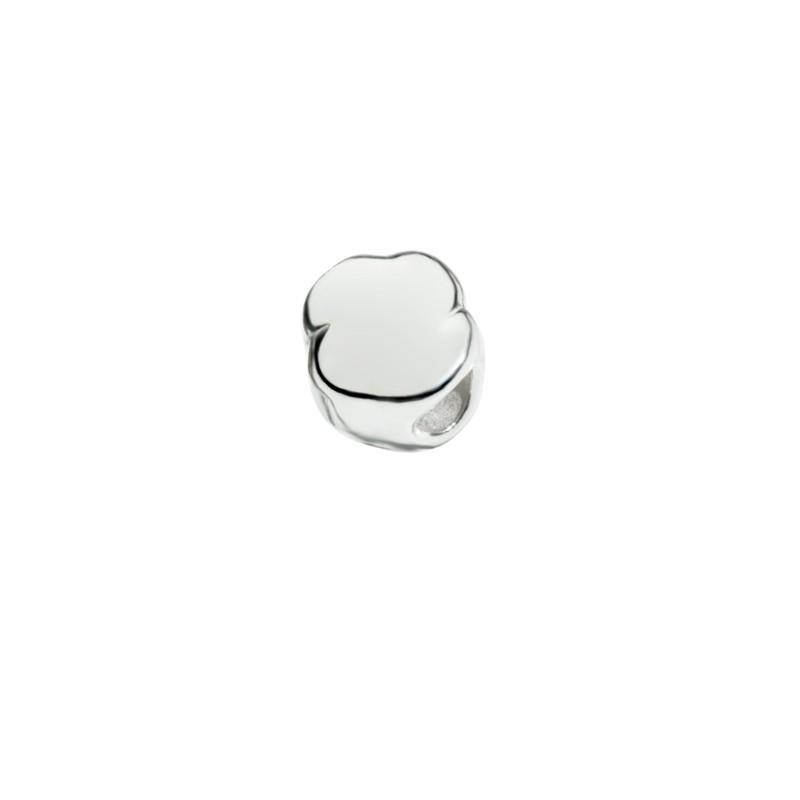 Bead Nuvoletta di Queriot Civita, in argento 925 lucido.