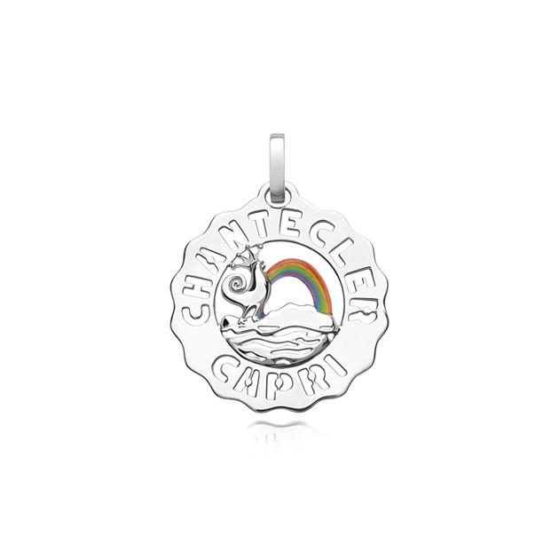 Chantecler | Ciondolo Logo Piccolo Arcobaleno