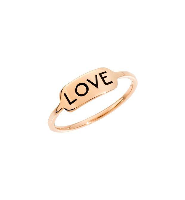 Dodo | Anello Tag Love