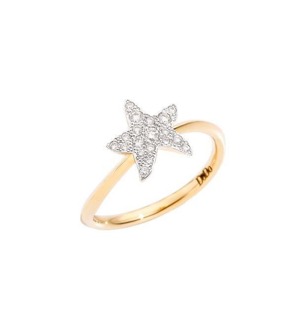 Dodo | Anello Stella Grande con Diamanti