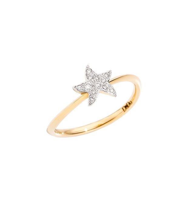 Dodo | Anello Stella Piccola con Diamanti