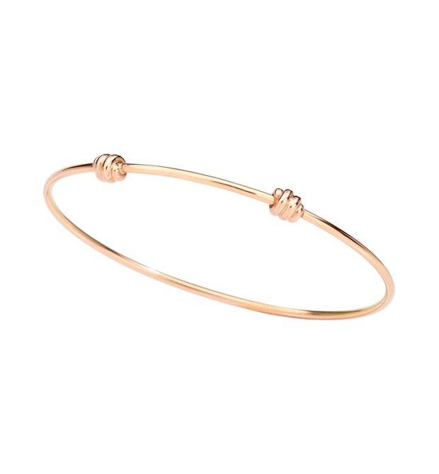 Dodo | Bracciale Bangle Nodo Oro Rosa