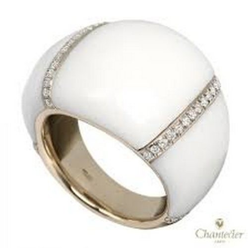 Chantecler | Anello Rendez-Vous in Oro Bianco