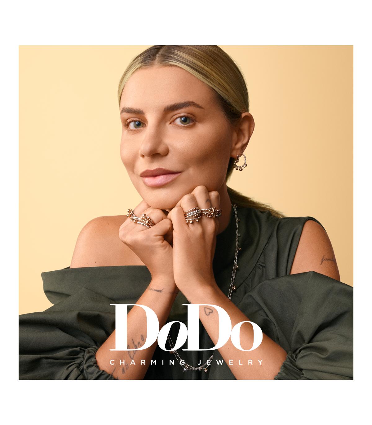 Dodo | Anello Bollicine Piccole e Diamanti