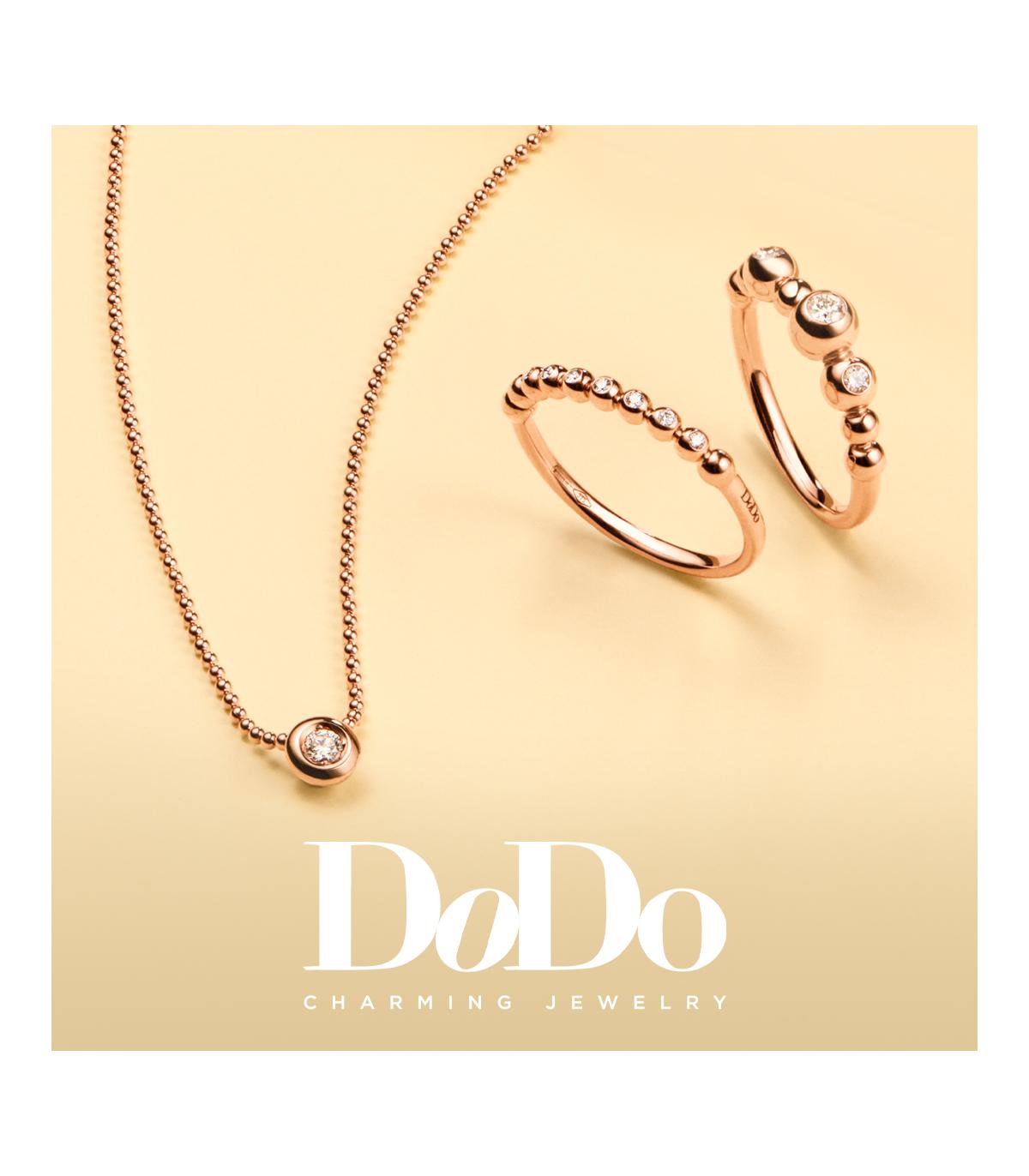 Dodo | Girocollo Bollicine Diamante